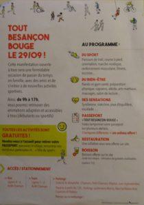 Tout Besançon Bouge 2019