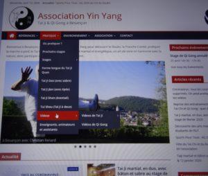 Site web yinyang vidéos