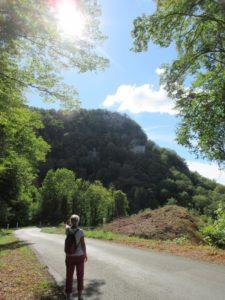 route D21 E vers Val de Cusance