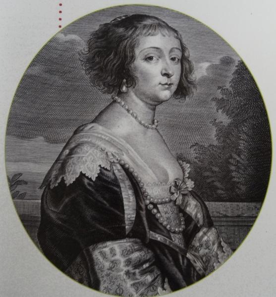 Béatrix de Cusance par Antoine Van Dyck