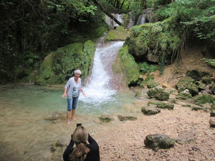 Châteauvieux Première cascade