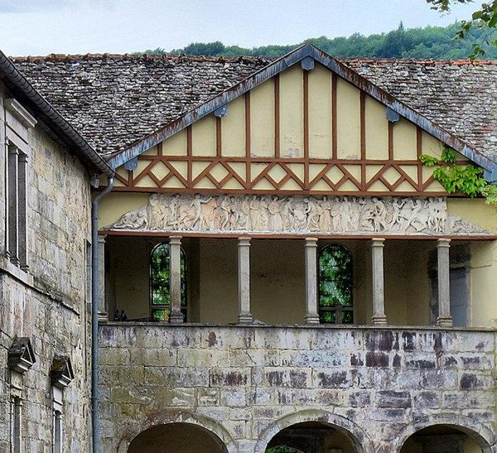 fresque du château