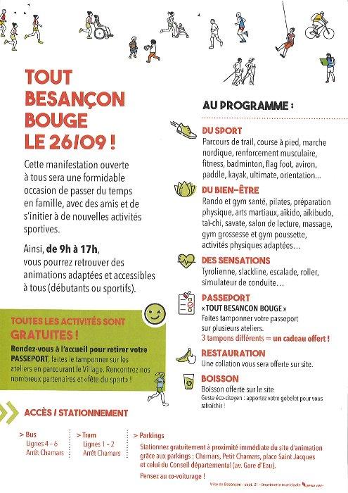 Tout Besançon Bouge 2021